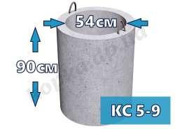 Кольцо стеновое КС5-9 (горловина)