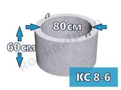 Кольцо стеновое КС8-6