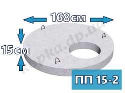 Плита перекрытия усиленная ПП15-2