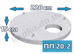 Плита перекриття посилена ПП20-2